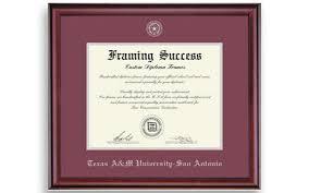 a m diploma frame a m san antonio