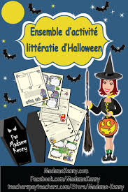 86 best fle halloween images on pinterest core french teaching