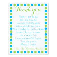 thank you card thank you baby shower cards cool baby shower