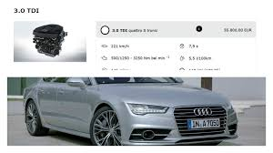 audi a6 3 0 tdi engine rightsizing 190 hp v6 tdi engine that powers the audi a6 and a7