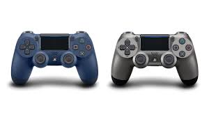 how to change the color of ps4 controller light you can now pre order the steel black and midnight blue dualshock 4
