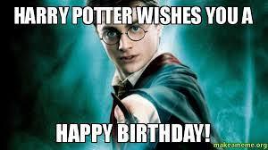 Harry Potter Birthday Meme - harry potter funny happy birthday meme 2happybirthday