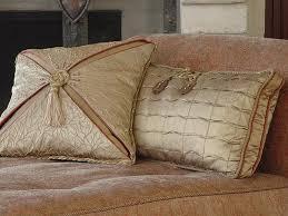 Sofa Decorative Pillows by Decorative Pillows Decorative Taupe Silk Pillows Designer