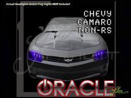 Camaro Fog Lights 14 16 Chevrolet Non Rs Camaro Rd Led Colorshift Halo Rings Headlights