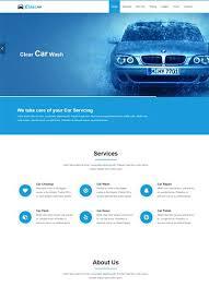 automobile u0026 car wash templates archives webthemez