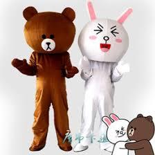 Brown Bear Halloween Costume Discount Brown Rabbit Mascot Costume 2017 Brown Rabbit Mascot