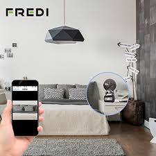 spy camera in the bedroom fredi hd 1080p p2p wifi hidden camera alarm clock remote
