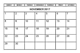 printable calendar page november 2017 printable november 2017 monthly calendar free printable calendar