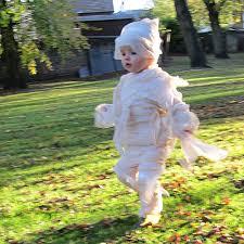 Halloween Mummy Costumes Homemade Halloween Baby U0026 Toddler Mummy Costumes Superlucky