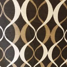 Geometric Fabrics Upholstery Duo Noir Black Geometric Design Indoor Outdoor Upholstery Fabric