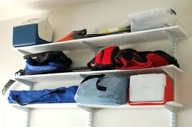 Wall Shelves Lowes Garage Shelvinggarage Wall Shelves Lowes Storage Systems