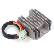 5 wires 12v voltage regulator rectifier motorcycle dirt bike atv