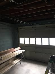 before and after garage renovation u2014 lw