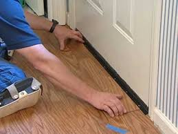 laminate flooring installation undercutting door frames airbase