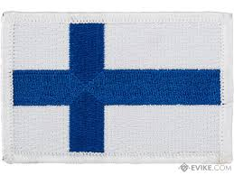 Country Flags Patches Matrix Hook And Loop Morale Patch Country Finland Evike Com