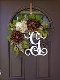 initial wreath for front door istranka net