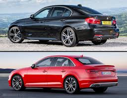 bmw 328i xdrive vs audi a4 quattro 2016 bmw 340i vs 2017 audi s4 compared