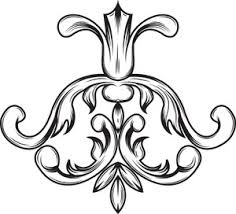 ornamental floral vector royalty free stock image storyblocks