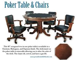 poker game table set presidential poker dining game table robbies billiards