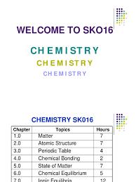 chemistry malaysian matriculation full notes u0026 slides for semester