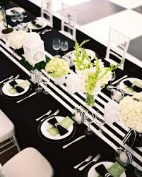 56 Best Black And White Wedding Table Settings Images On Pinterest