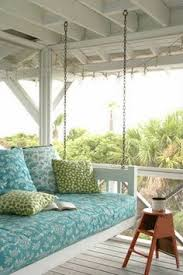 build this hanging daybed and turn your porch into your favorite