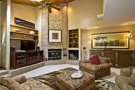 great family room idea with living room high ceiling design also