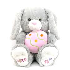 stuffed bunnies for easter easter jubilee 2015 happy hopster grey with pink egg 16 5