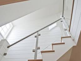 Glass Stair Rail by Glass Stair Railings Types U2014 Railing Stairs And Kitchen Design