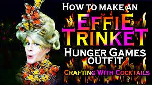 Effie Halloween Costume Disney Princess Hunger Games Diy Effie Butterfly Dress Crafting