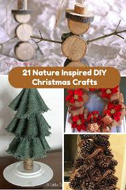 21 nature inspired diy christmas crafts allfreechristmascrafts com