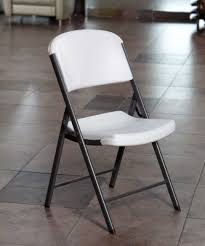 Folding Chair With Table Commercial Contoured Folding Chair Single Pack White Granite