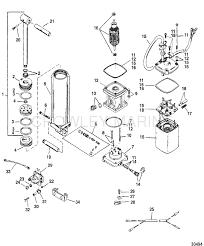 trim u0026 pump assembly 824051 mercury oem parts iboats com