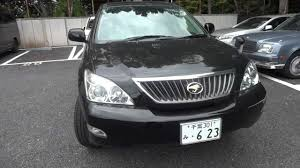 toyota harrier 2005 2010 harrier 240 g l package black leather youtube