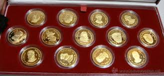 arras de oro arras reales v centenario casa de borbon iii comprar monedas