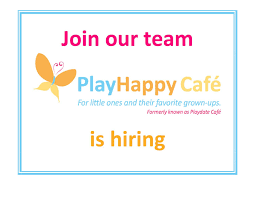playhappy cafe employment