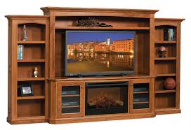 Amish Made Electric Fireplaces by Cavalier Entertainment Center With Fireplace Countryside Amish