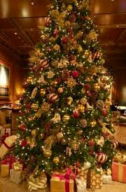 the christmas tree at the harvard club of new york city new york