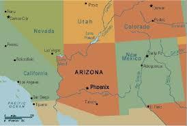 us map arizona state maps maps of arizona az usa entity page for