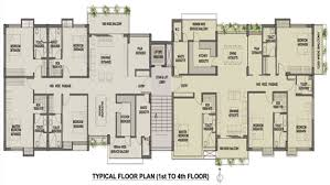 Commercial Office Floor Plans Skyview Residency Residential Flats Bunglows In Siliguri