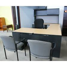 u shaped desks used metal laminate u shaped desk mcaleer u0027s office furniture