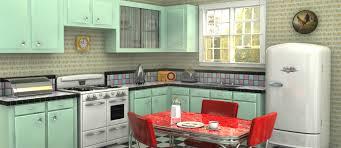 Retro Kitchen Design How To Create A Retro Kitchen