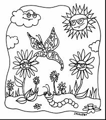 fabulous spring coloring pages with printable spring coloring