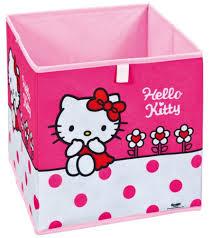 Coffre A Jouet Hello Kitty by Panier Pliable Hello Kitty Flower