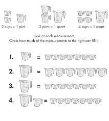 cup pint quart gallon worksheet all worksheets liquid measurement conversion worksheets free