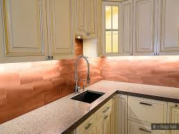 Copper Backsplash Kitchen Copper Kitchen Backsplash Copper Subway Tile Backsplash Copper