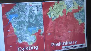 Map Of Outer Banks Nc New Preliminary Flood Maps List All Of Downtown Jacksonville As