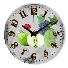 online buy wholesale fruit wall clock from china fruit wall clock