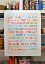 every art class should have this poster on their wall and every