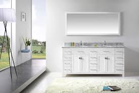 White Vanities For Bathroom by Virtu Usa Caroline Parkway 72 Bathroom Vanity Cabinet In White